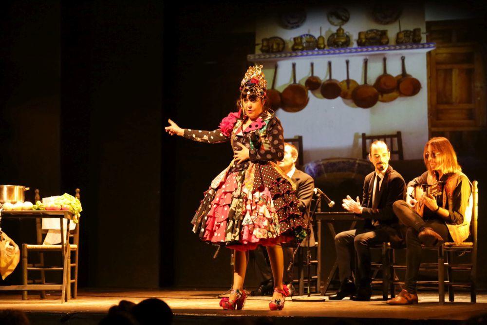 Maui de Utrera durante su actuación