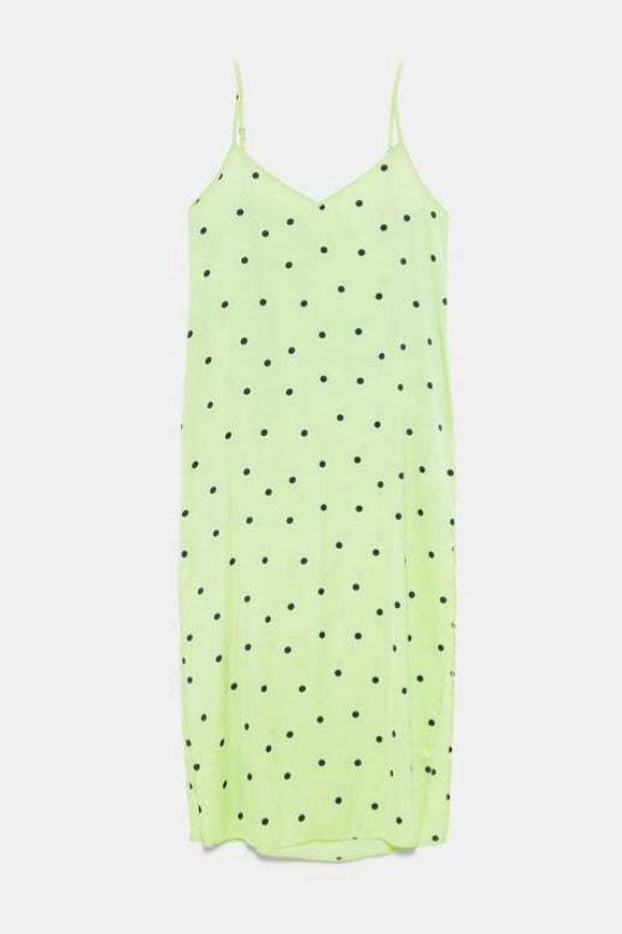 Vestido de lunares de Zara