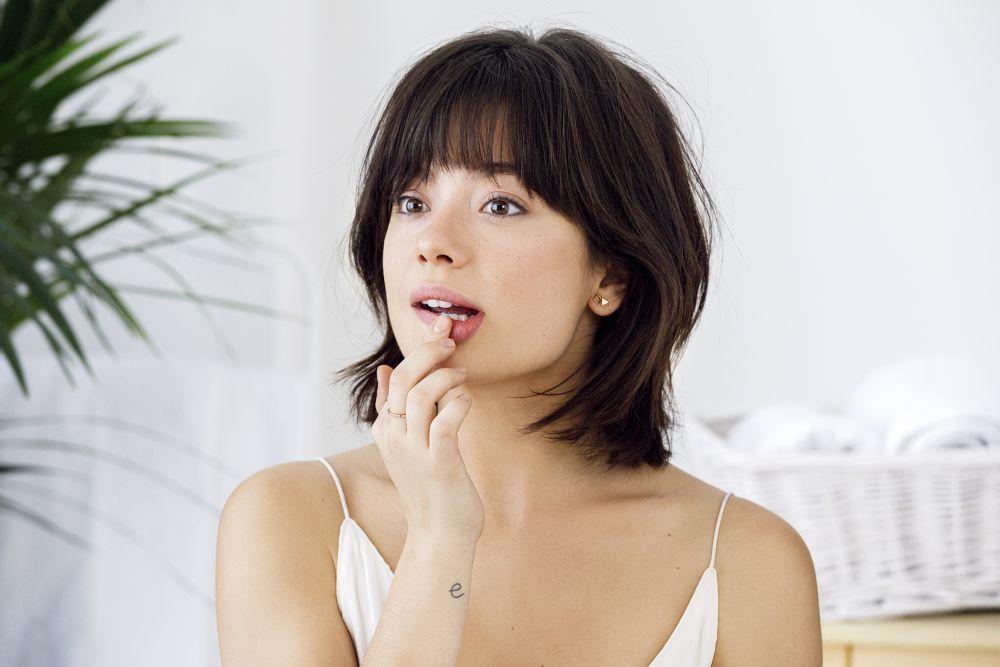 El color de dentro de tu labio inferior es el mismo que el de el tono de colorete que mejor te va.