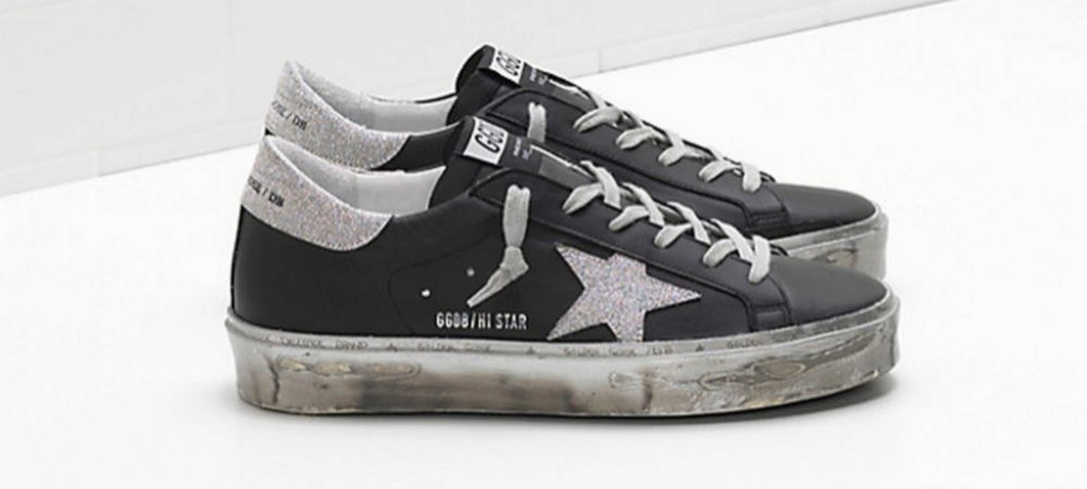Zapatillas negras de Golden Goose