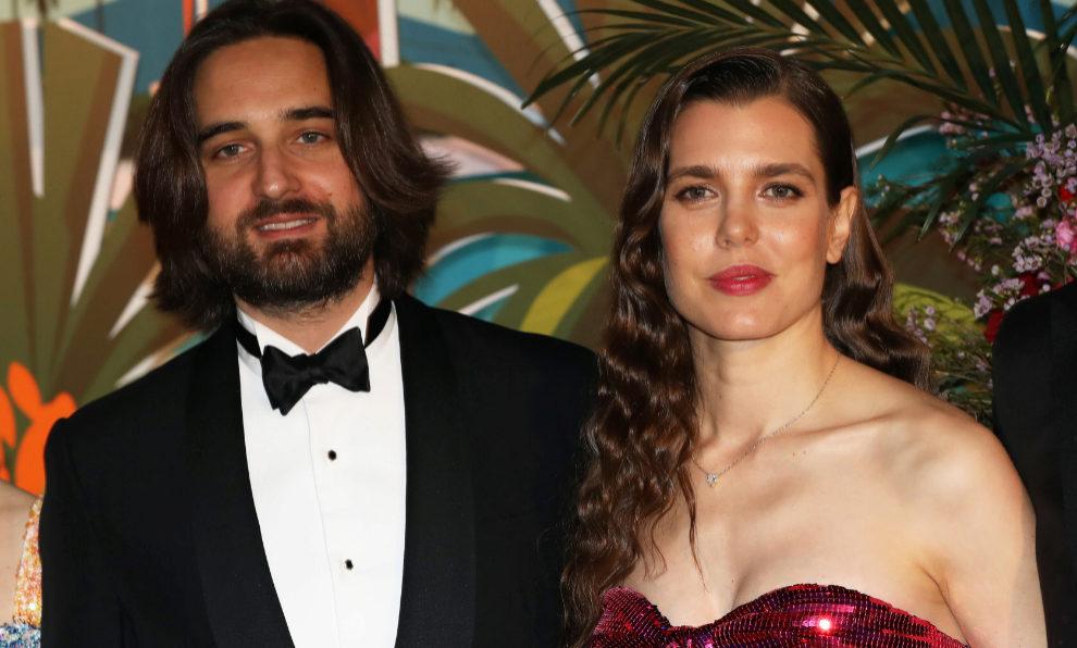 Carlota Casiraghi y su prometido, Dimitri Rassam.