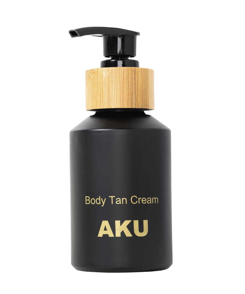 Body Tan Cream de Aku Cosmetics, la nueva línea lanzada por la...