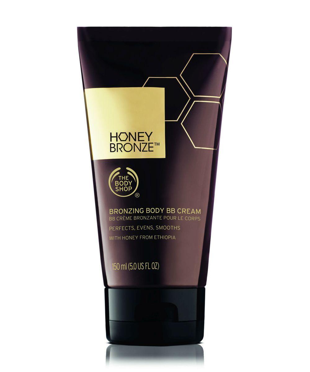 La BB Cream Corporal Honey Bronze de The Body Shop broncea de forma...