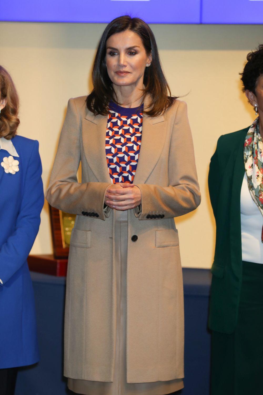 La reina Letizia en la Casa de la Moneda