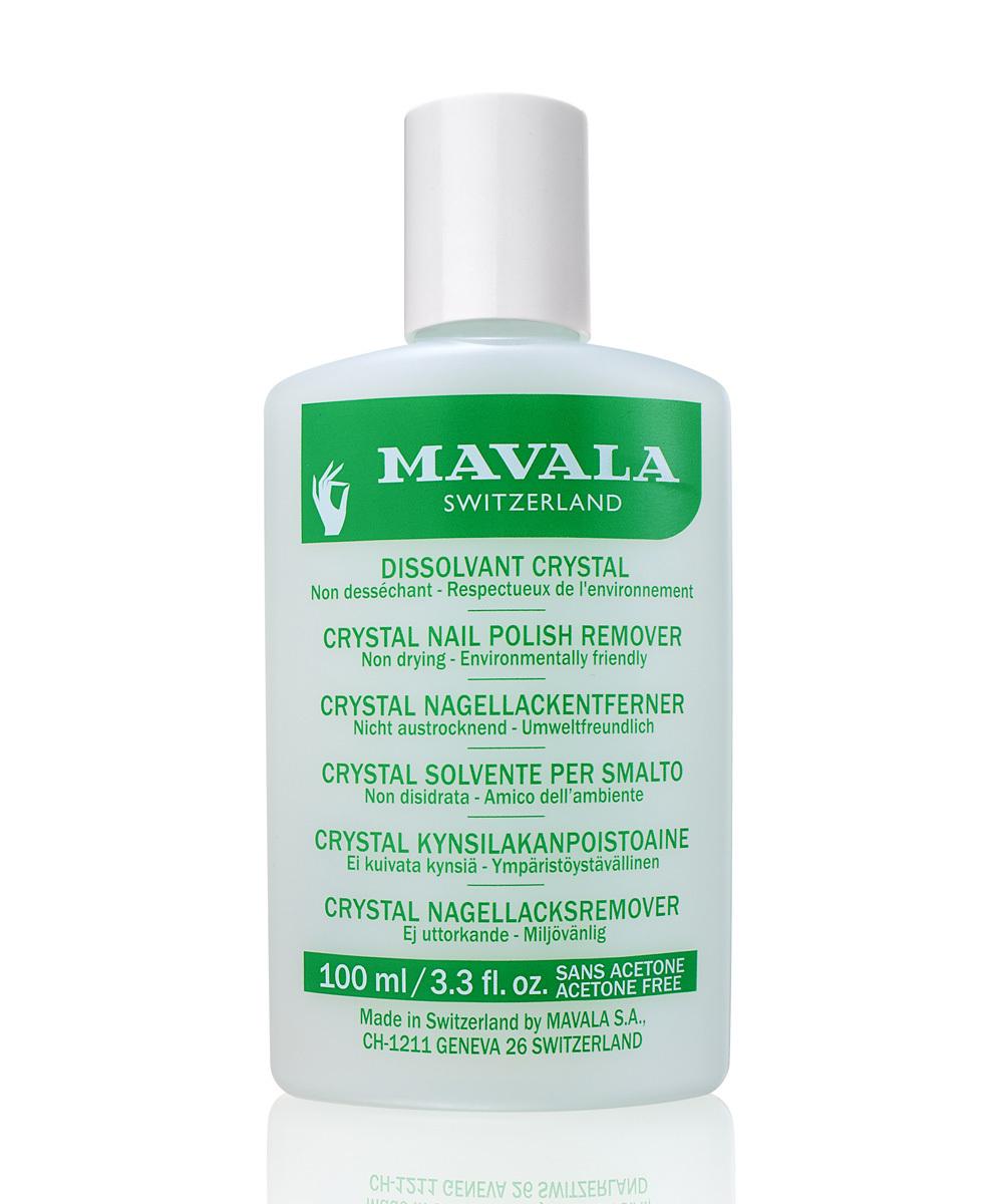 Quitaesmalte sin olor y sin acetona de Mavala.