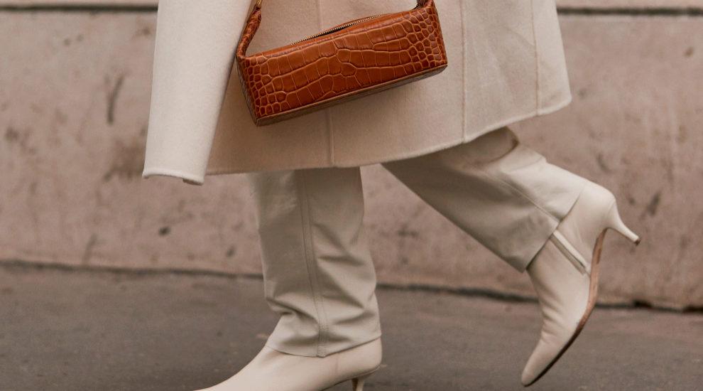 Los botines blancos han sido el zapato más visto del street style de...