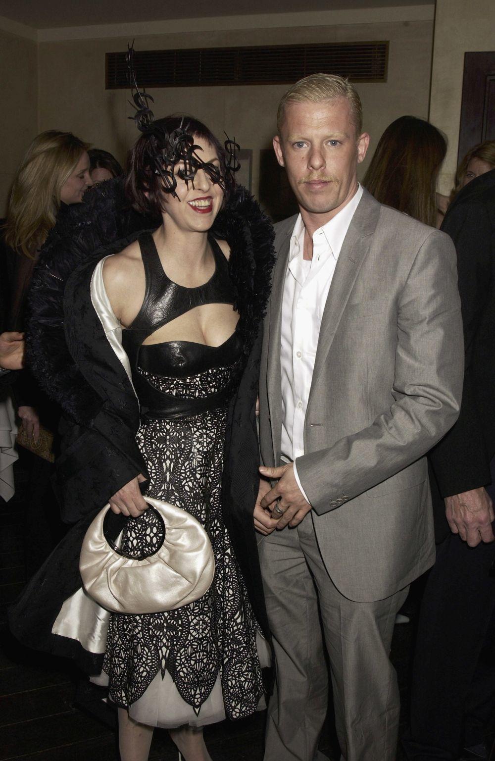 Isabella Blow y Alexander McQueen.