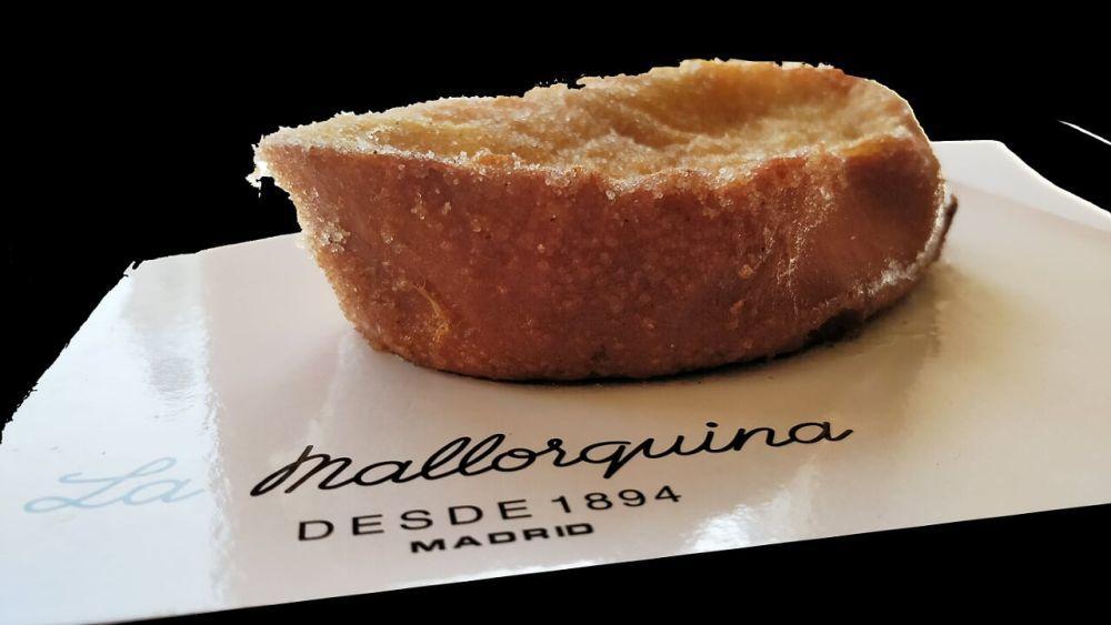 Torrija de la pastelería La Mallorquina