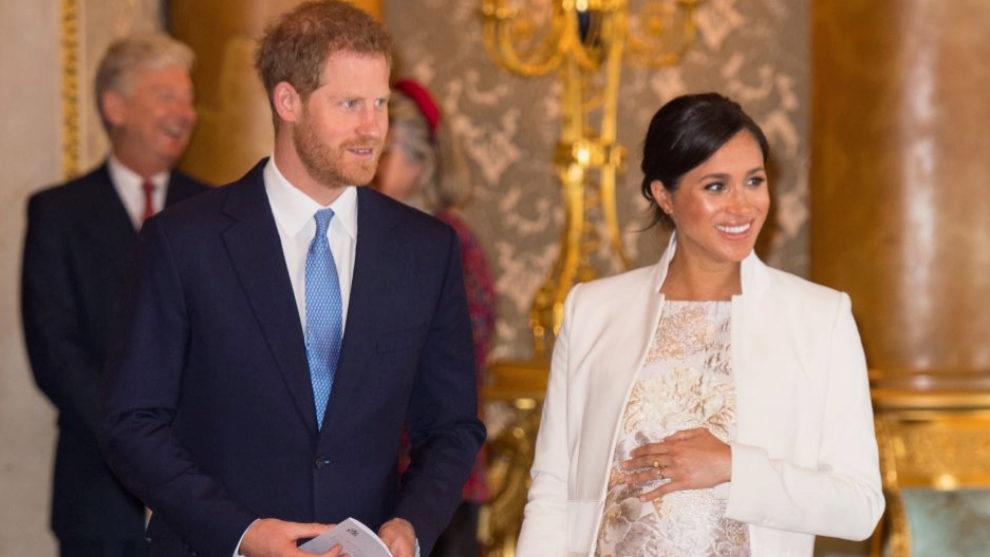 Meghan Markle y el príncipe Harry, a punto de ser padres.
