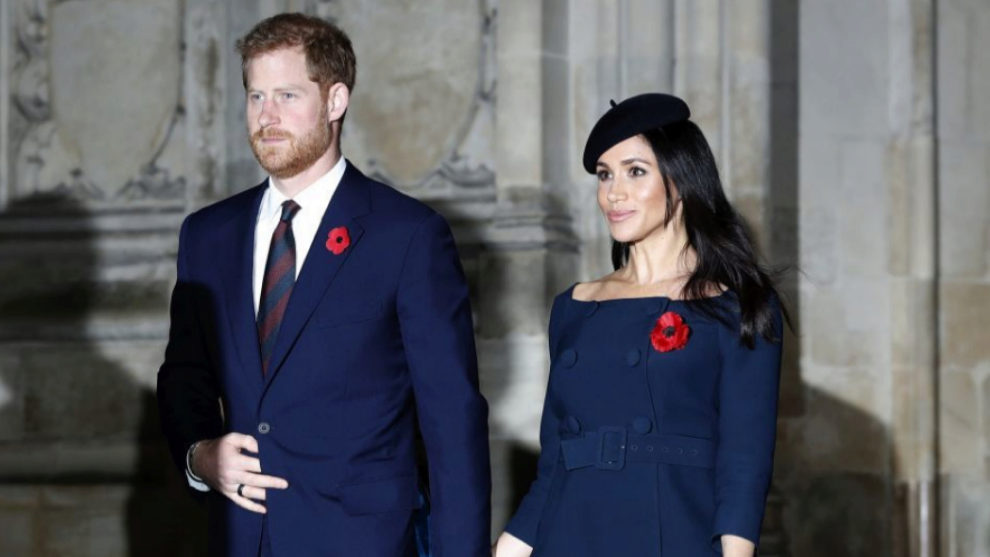 Los Duques de Sussex, Meghan Markle y el príncipe Harry.