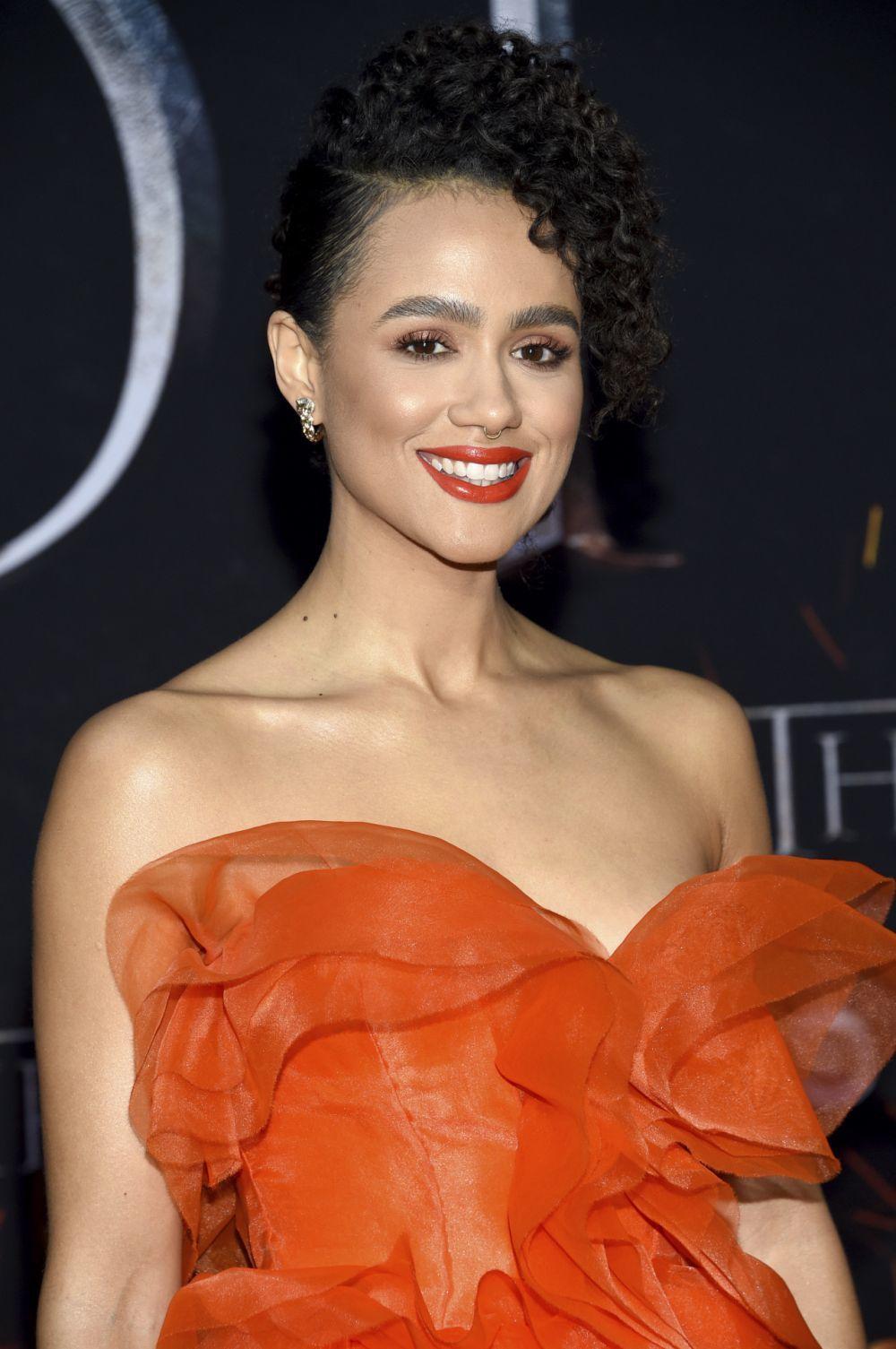 Nathalie Emmanuel, actriz protagonista de Juego de Tronos, con un...