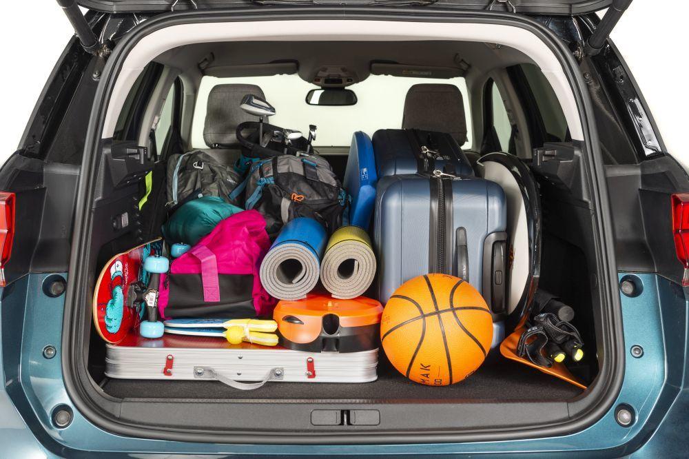 En el maletero del Citroën C5 Aircoross te cabe todo lo que necesitas...