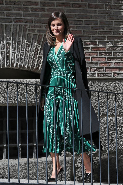 La reina Letizia en la inauguración de las obras de accesibilidad del...