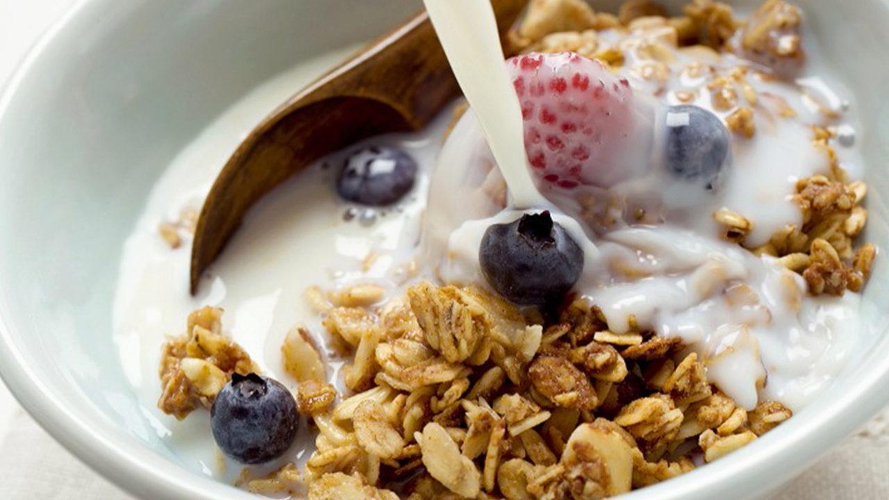 Los cereales son una buena fuente de fibra