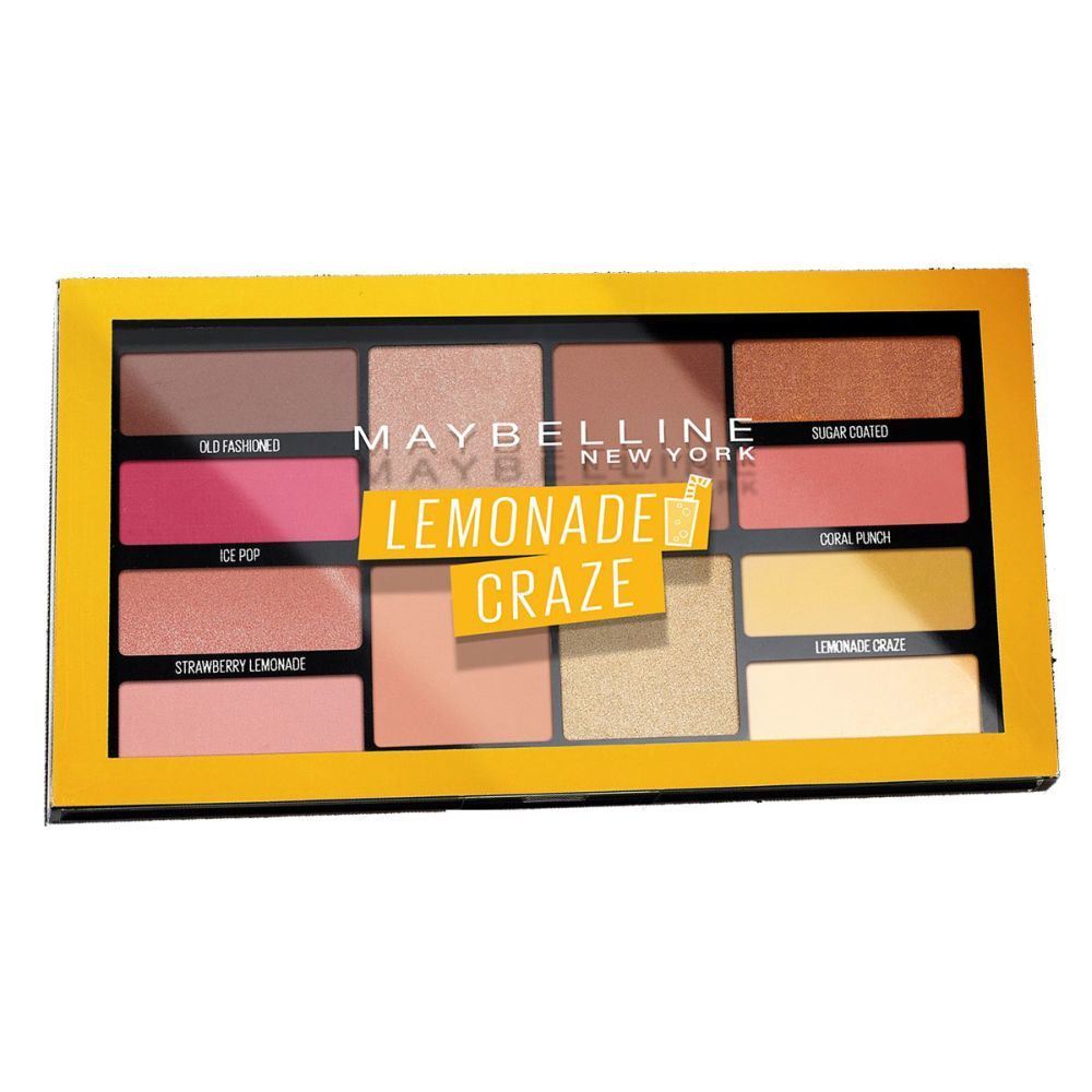 Paleta de sombras The Lemonade de Maybelline New York