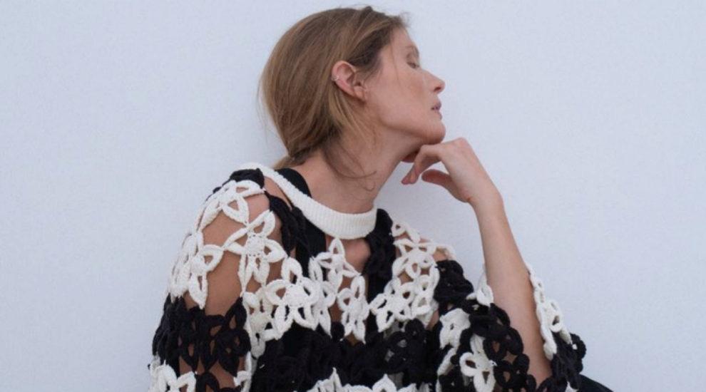 jersey ganchillo de Zara