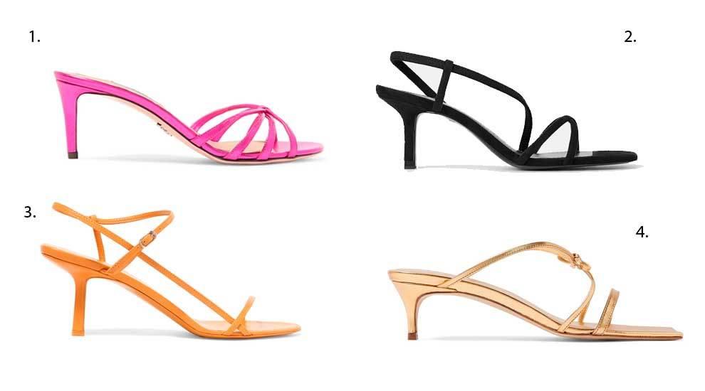 1. Prada (520 euros); 2. Zara (29,95 euros); 3. The Row (C.P.V); 4. By...