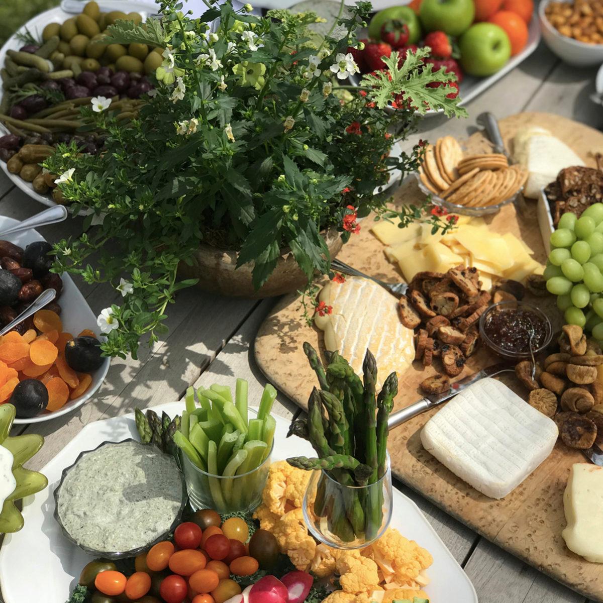 Hay alimentos que son aptos para la operación bikini en los banquetes...
