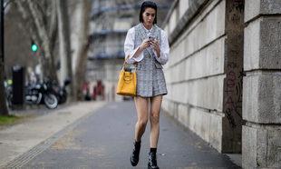 Insider buscando en Instagram en París