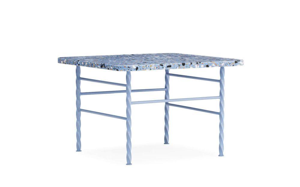 Tablero de mesa de terrazo.