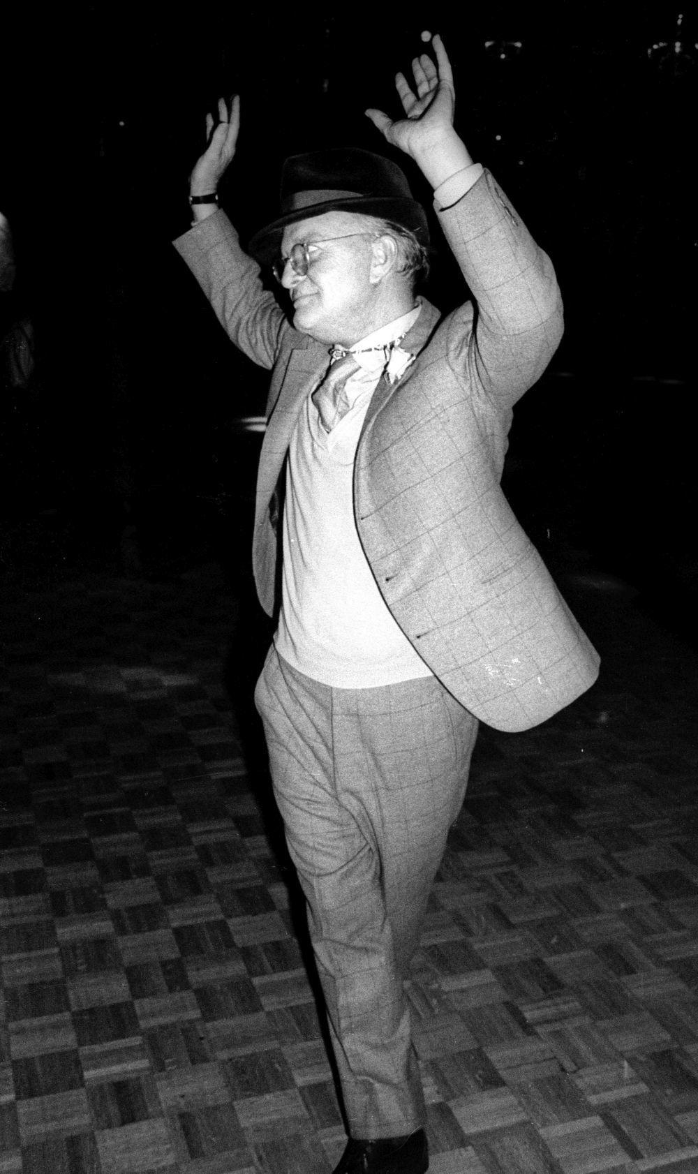 Truman Capote era un asiduo a Studio 54.