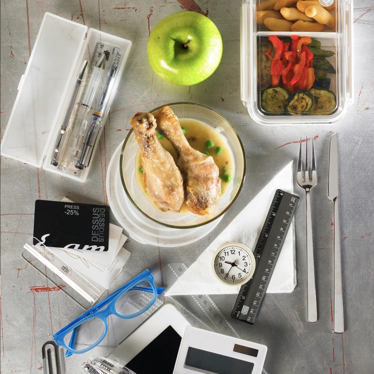 Comer en el trabajo delante del ordenador hace que nuestras...