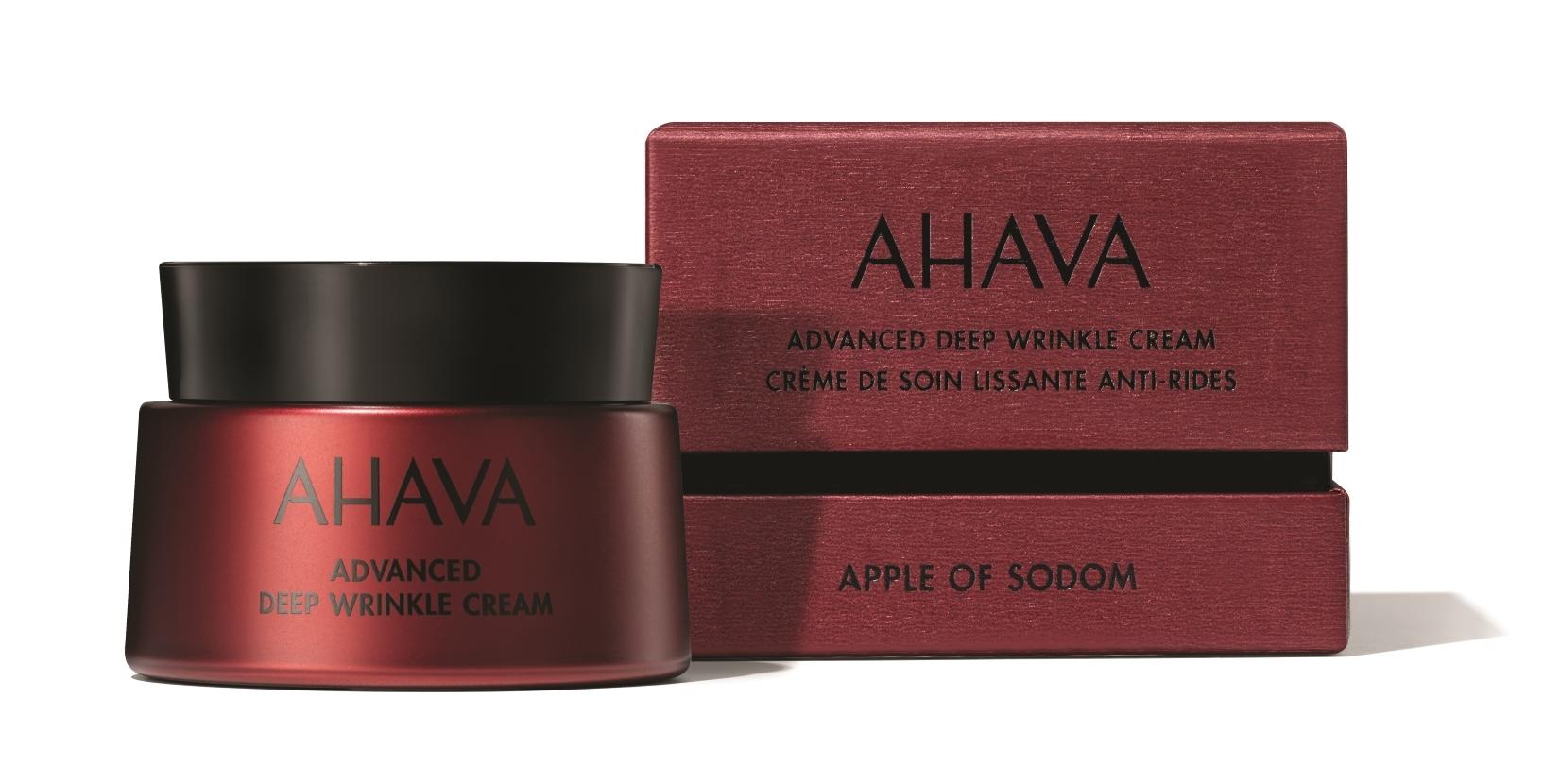 24-Hour Deep Wrinkle Cream de Ahava minimiza las arrugas y reafirma...