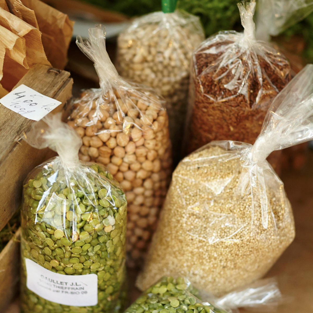 Las legumbres son necesarias para reducir el estrés
