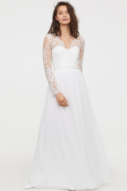 dffee43f31 Vestidos de novia sencillos y baratos  lo último de H M