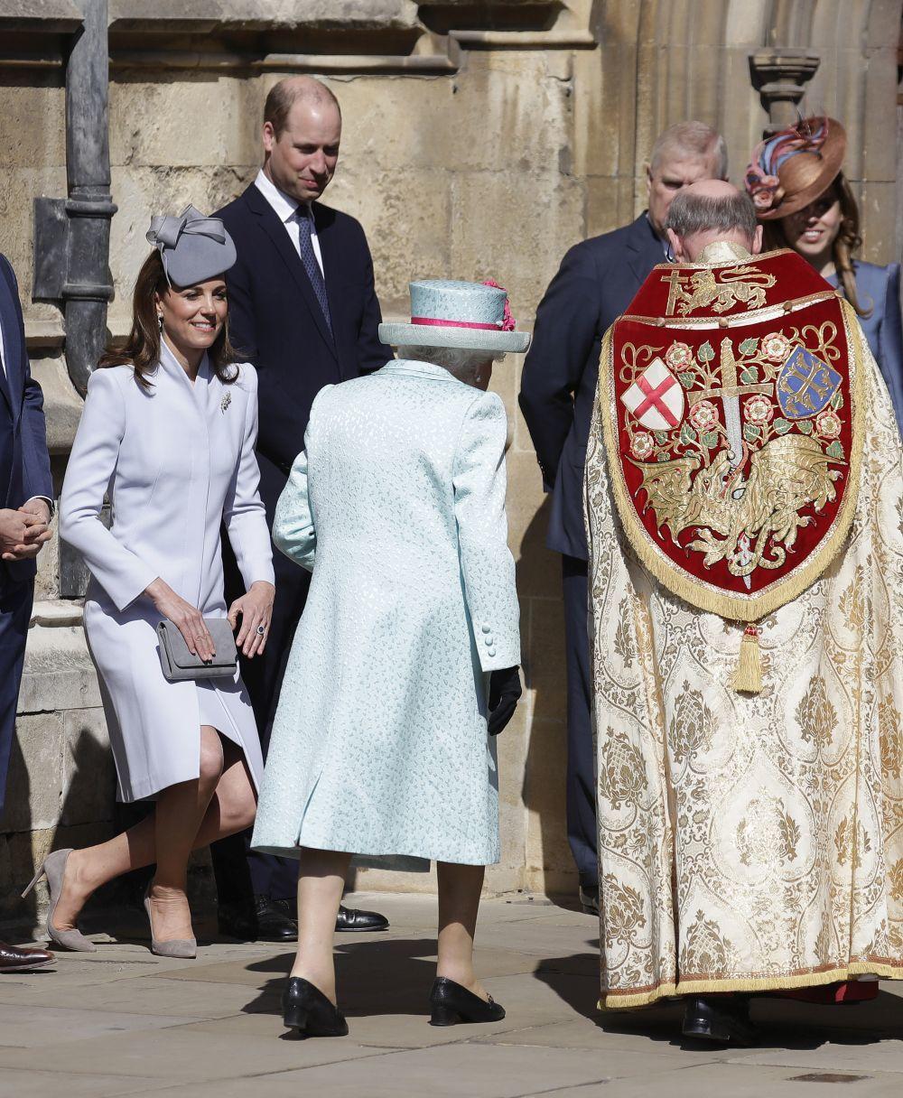 La familia real británica celebra el cumpleaños de Isabel II y la...