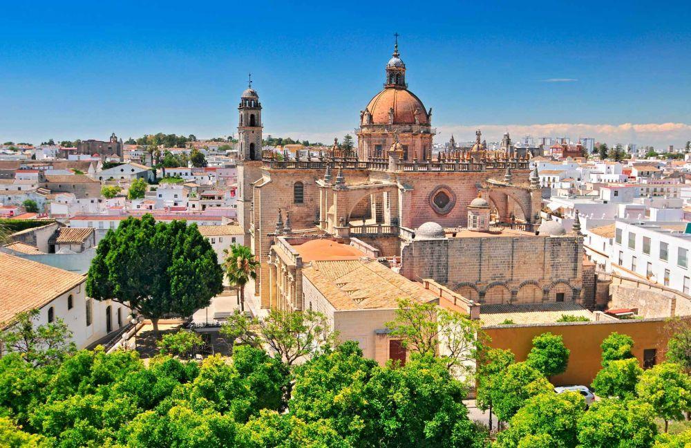 Vista de la Catedral.