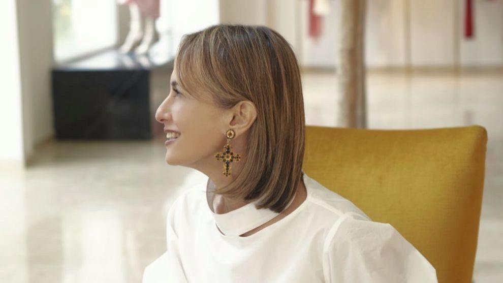 La diseñadora Silvia Tcherassi.
