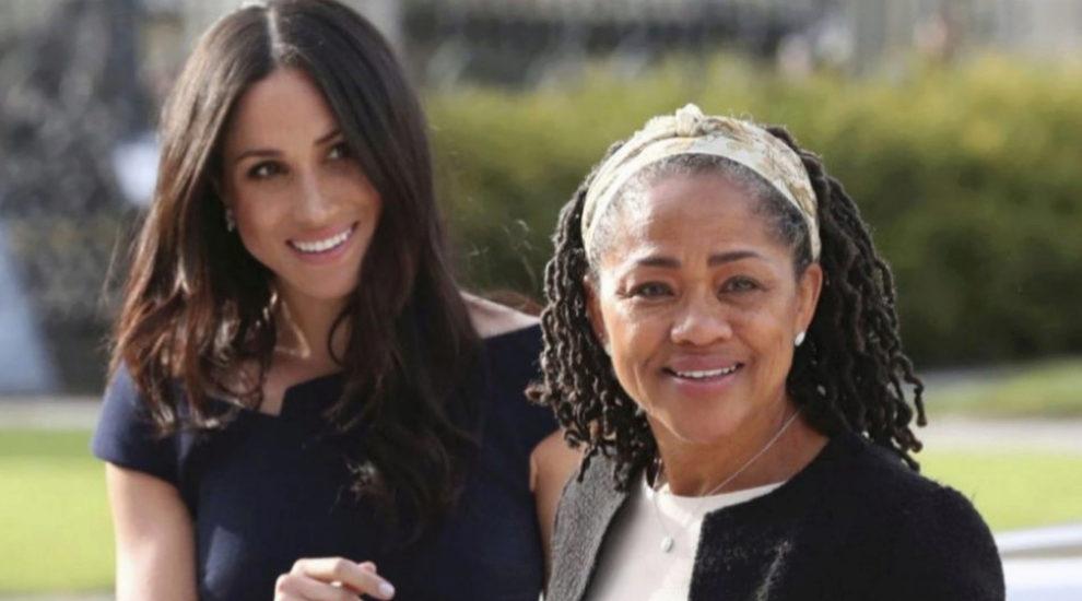 Meghan Markle con su madre, Doria Ragland.