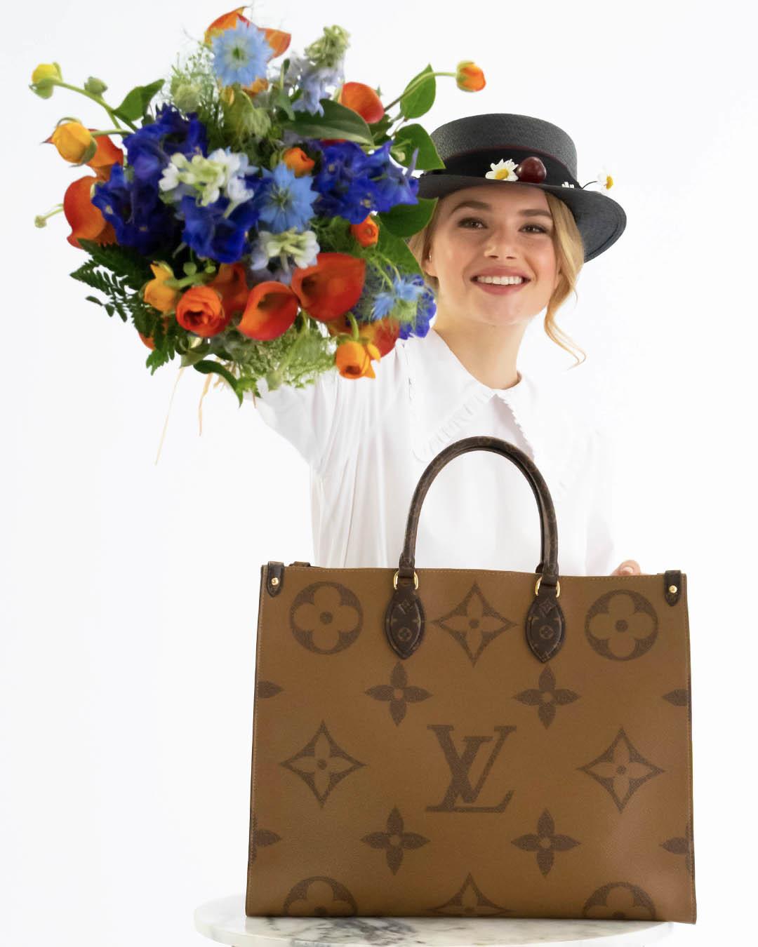 Tote Onthego de Louis Vuitton.