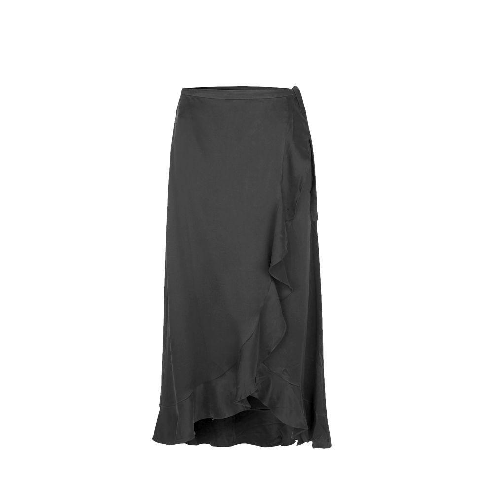 Falda negra de Samsoe Samsoe.