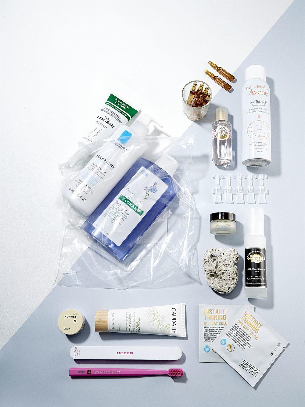 Sérums, cremas de noche, anticelulíticas, aceites... estos son los cosméticos que no faltan en el kit de belleza de los farmacéuticos.