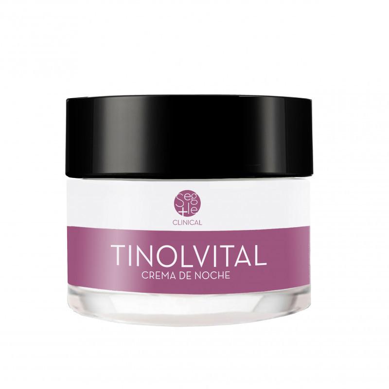 Crema de noche Tinolvital de laboratorios Segle.