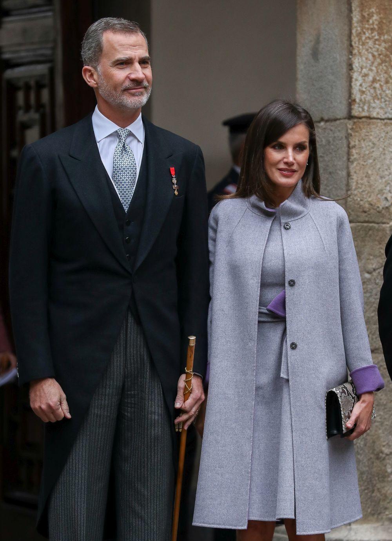 Los reyes en el Premio Cervantes 2019.