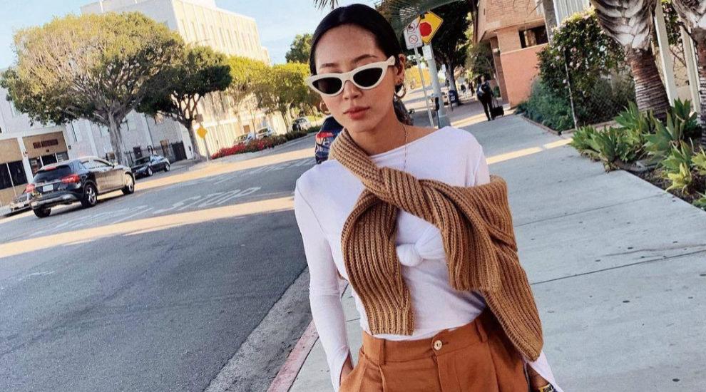 Aimee Son y looks de camiseta y jersey