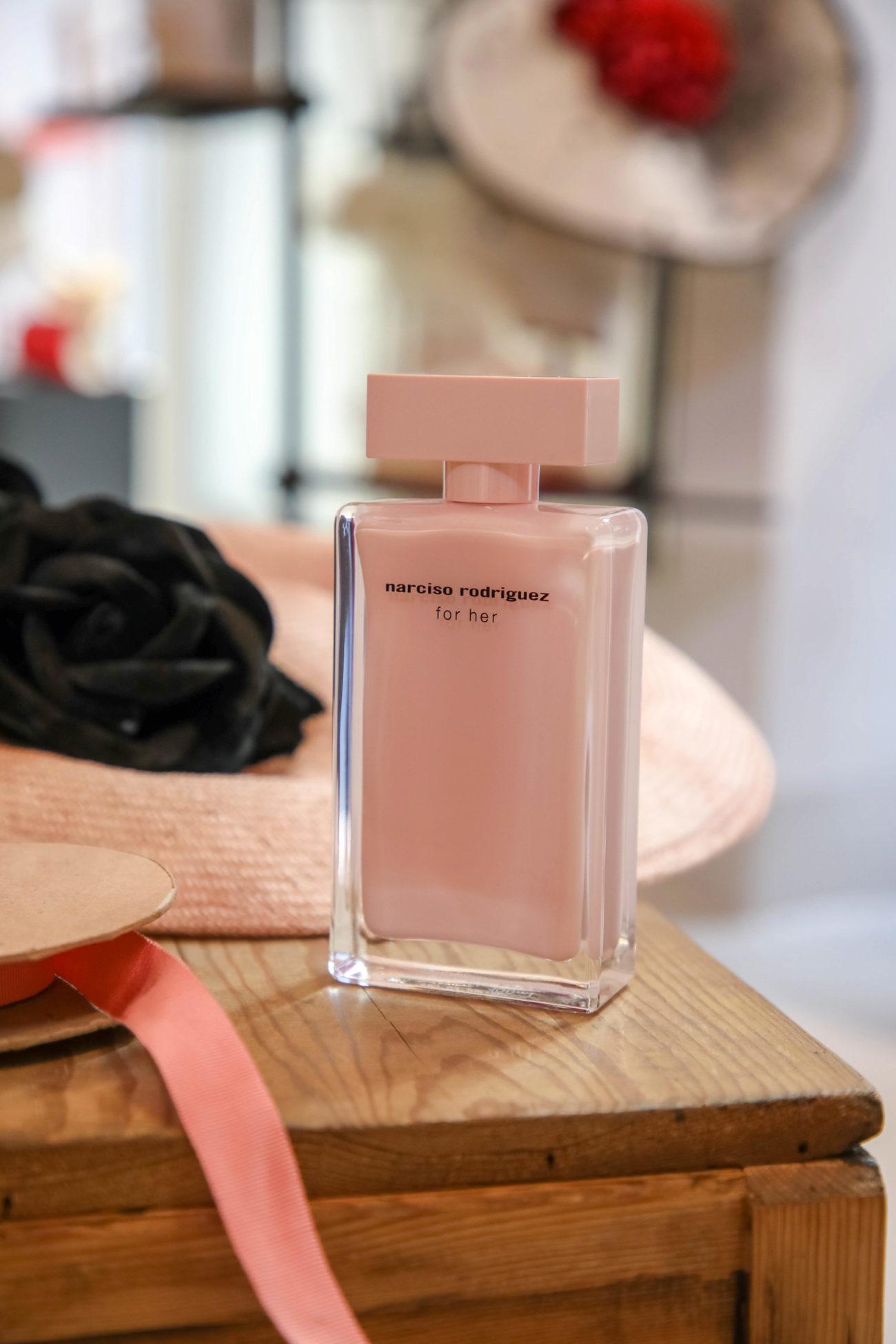 Eau de Parfum de Narciso Rodríguez.