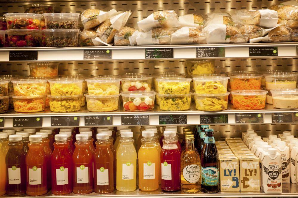 La dieta pegan se basa más en alimentos de mercado o frescos que de...