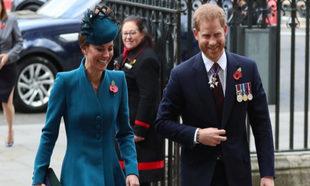 Kate Middleton y el príncipe Harry.