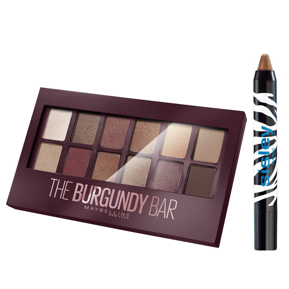 Burgundy Palette, Maybelline New York (12,99 euros); Phyto Eye Twist...