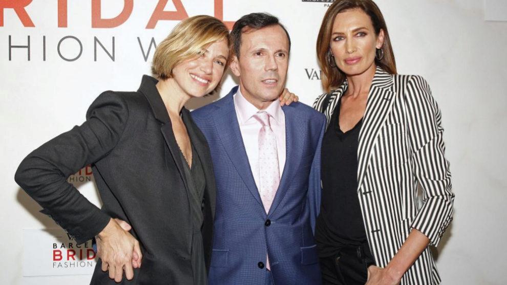 Jesús María Montes-Fernández junto a Nieves Álvarez y Martina...