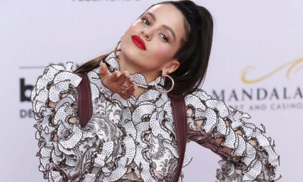 Rosalía en los premios latinos de música Billboard en Las Vegas.