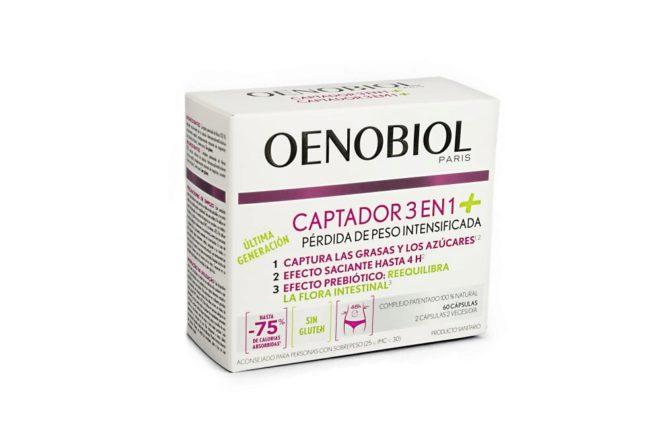 Oenobiol Captador 3 en 1. Acción prebiótica, su objetivo es...