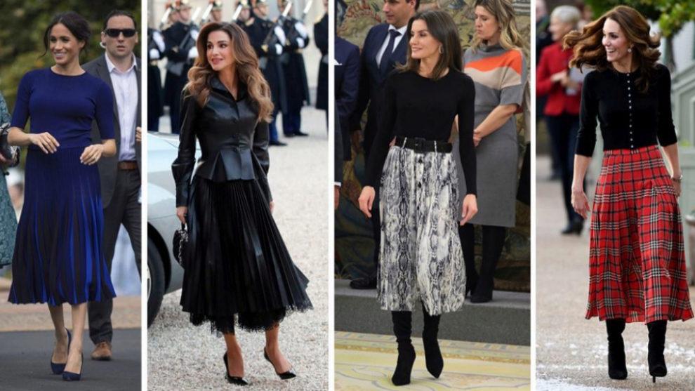 La falda plisada se ha convertido en una de las prendas favoritas de...