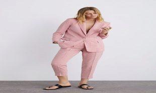 Blazer de cuadros vichy de Zara (35,95¤) y pantalón de cuadros...