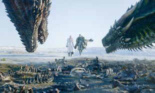 Daenerys Targaryen interpretada por Emilia Clarke en un episodio de la...