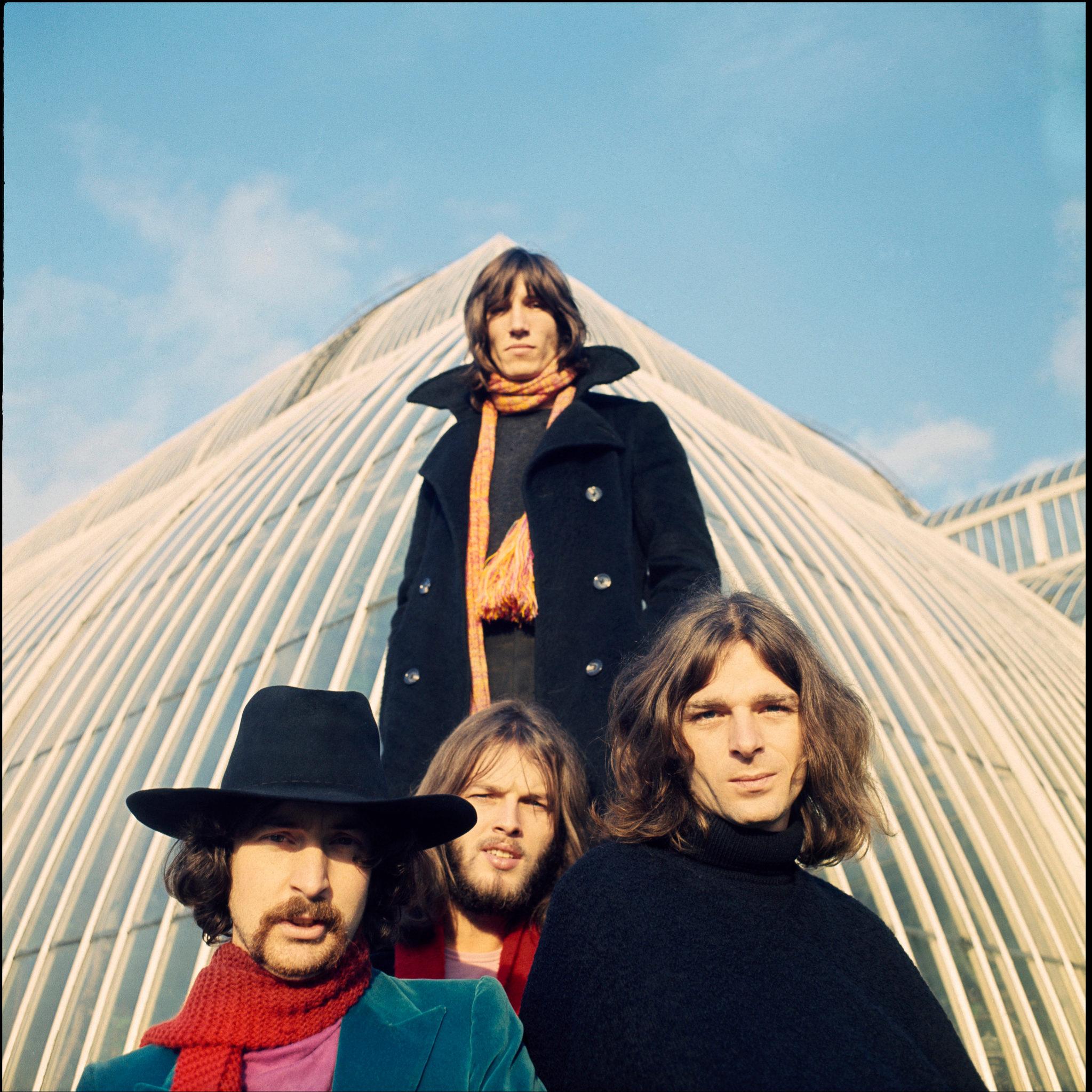 Imagen de la banda Pink Floyd.